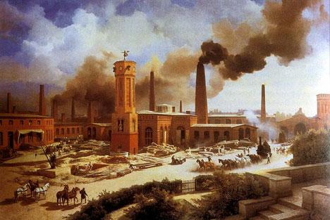British Wedding Dress Designers on British Industrial Revolution Timeline