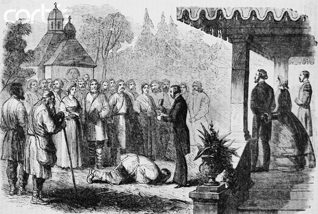 an introduction to the history of the emancipation of the serfs in russia On this day in 1861, six years after being crowned tsar of russia, alexander signed the emancipation act, bringing to an end the centuries old institution.